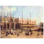 Puzzle  Impronte-Edizioni-151 Canaletto - Piazza San Marco