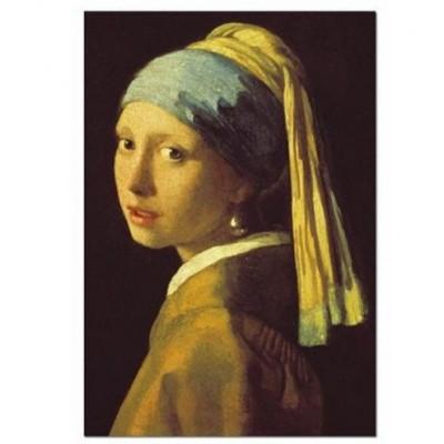 Puzzle  Impronte-Edizioni-234 Johannes Vermeer - Das Mädchen mit dem Perlenohrgehänge