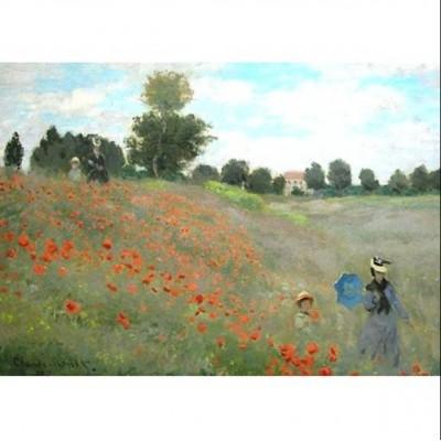 Puzzle  Impronte-Edizioni-236 Claude Monet - Das Mohnfeld