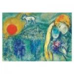 Puzzle  Impronte-Edizioni-245 Marc Chagall - Die Liebhaber von Vence