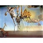 Puzzle  Impronte-Edizioni-268 Salvador Dalí - Die Versuchung des heiligen Antonius