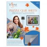 Jig-and-Puz-80007 Puzzle-Klebefolie für 2000 Teile