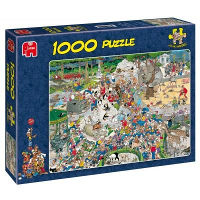 Puzzle  Jumbo-01491 Jan van Haasteren: Im Zoo