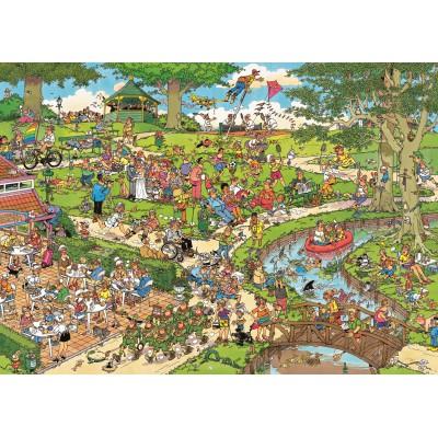 Puzzle  Jumbo-01492 Jan van Haasteren: Im Stadtpark