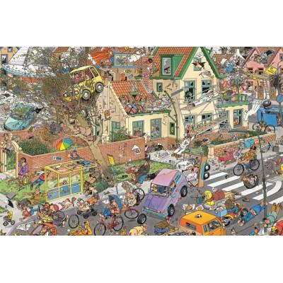 Puzzle  Jumbo-01498 Jan van Haasteren: Der Sturm