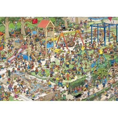 Puzzle  Jumbo-01599 Jan van Haasteren: Der Spielplatz