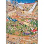 Puzzle  Jumbo-01666 Jan van Haasteren: Olympische Spiele