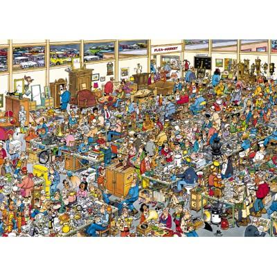 Puzzle  Jumbo-01886 Jan Van Haasteren: Trödelmarkt