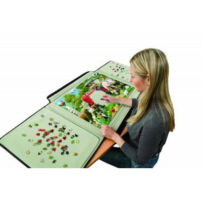 Jumbo-10806 Puzzle-Koffer für Puzzle bis zu 1500 Teilen