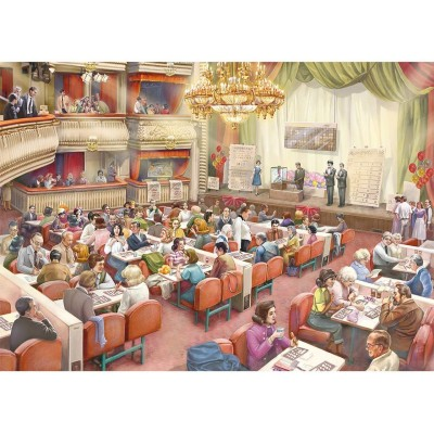 Puzzle Jumbo-11316 Bingo Hall