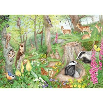 Puzzle  Jumbo-11322 Woodland Wildlife