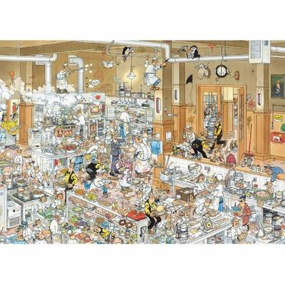 Puzzle  Jumbo-13049 Jan van Haasteren: Die Küche