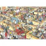Puzzle  Jumbo-17014 Jan van Haasteren: Das Büro