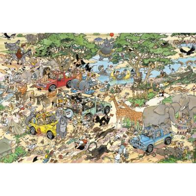 Puzzle  Jumbo-17016 Jan Van Haasteren: Safari