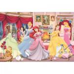 Puzzle  Jumbo-17065 Disney Princess - Finde die Fehler