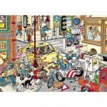 Puzzle  Jumbo-17161 Jan Van Haasteren: Schritt zur Seite!