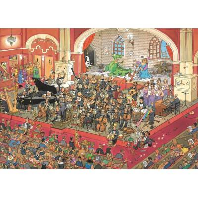 Puzzle  Jumbo-17214 Jan van Haasteren - Die Oper