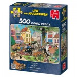 Puzzle  Jumbo-17277 Jan van Haasteren: Fang die Katze