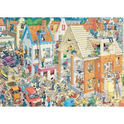 Puzzle  Jumbo-17461 Van Haasteren Jan: Die Baustelle