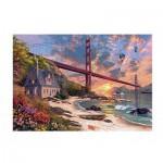 Puzzle  Jumbo-18333 Dominic Davison: Golden Gate Bridge