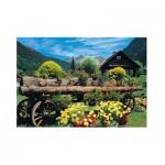 Puzzle  Jumbo-18335 Alpenblumen