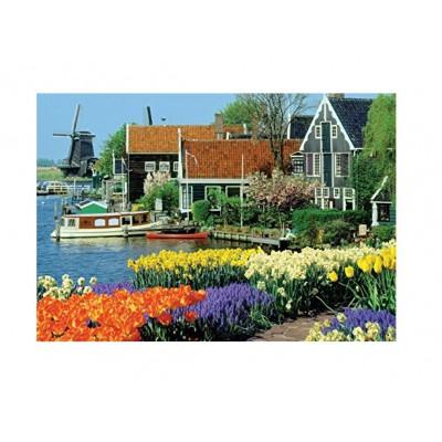Puzzle  Jumbo-18336 Zaanse Schans