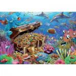 Puzzle  Jumbo-18342 Unterwasserschatz