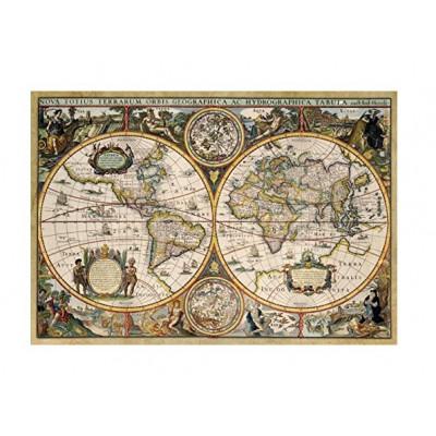 Puzzle  Jumbo-18345 Weltkarte 1630