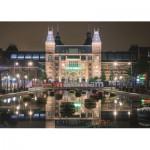 Puzzle  Jumbo-18351 Rijksmuseum in der Nacht