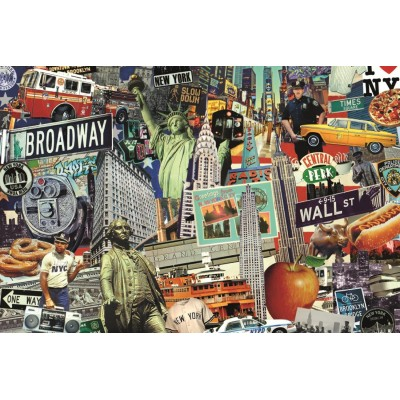 Puzzle  Jumbo-18376 Best of New York