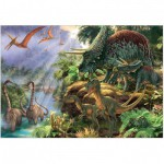 Puzzle  Jumbo-18378 Dinosaurier