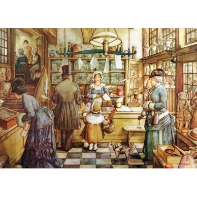 Puzzle  Jumbo-18514 XXL Teile - Die Bakery
