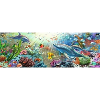Puzzle  Jumbo-18519 Wasser Paradise