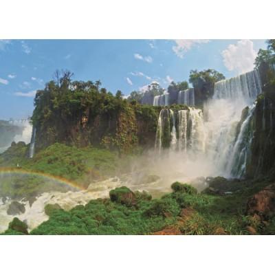 Puzzle  Jumbo-18522 Iguazu Wasserfälle