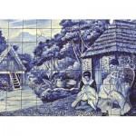 Puzzle  Jumbo-18534 Portugiesische Fliesen aus Funchal
