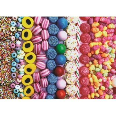 Puzzle  Jumbo-18536 Süßigkeiten