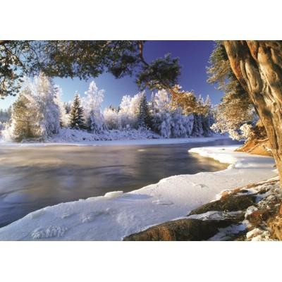 Puzzle  Jumbo-18549 Der Fluss Dal, Schweden