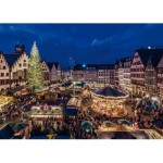 Puzzle  Jumbo-18553 Weihnachtsmarkt in Frankfurt