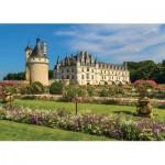 Puzzle  Jumbo-18555 Schloss der Loire, Frankreich