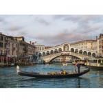 Puzzle  Jumbo-18556 Rialto Brücke, Venedig