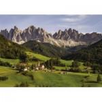Puzzle  Jumbo-18557 Dolomiten, Italien