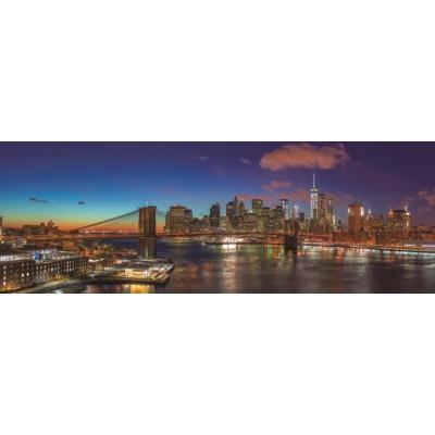 Puzzle  Jumbo-18569 Hudson Bridge New York