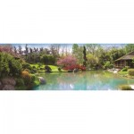 Puzzle  Jumbo-18571 Farbenfroher Garten