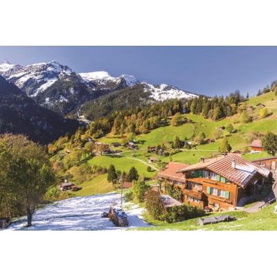 Puzzle  Jumbo-18587 Berner Oberland, Schweiz