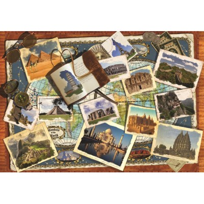 Puzzle  Jumbo-18588 Wunder der Welt