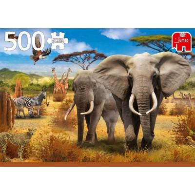 Puzzle  Jumbo-18802 African Savannah