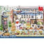Puzzle  Jumbo-18807 Bonjour Paris