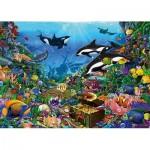 Puzzle  Jumbo-18814 Jewels of The Deep