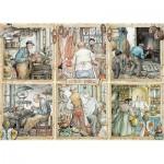 Puzzle  Jumbo-18817 Anton Pieck - Craftmanship
