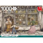 Puzzle  Jumbo-18826 Anton Pieck - The Clock Shop